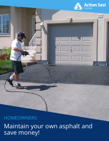Free Homeowners Do It Yourself Asphalt Course